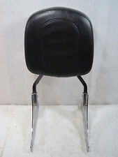 OEM Passenger Backrest Pad & Brackets off 2000 Harley FLSTF Fat Boy #U5467