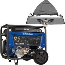 Westinghouse Wgen7500 7500 Watt Electric Start Portable Generator Carb With