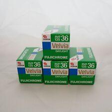 4 rolls Fujichrome Velvia 50 35mm film  36exp