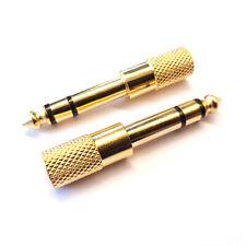Audio Klinken Adapter 6,35mm Stecker auf 3,5mm Buchse Stereo HIFI vergoldet