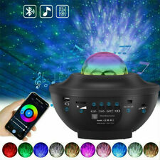 LED Sternenhimmel Projektor Galaxy Lampe Starry Mond Stern mit Fernbedienung USB