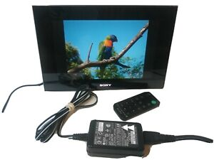 """Sony DPF-V900 9"""" Digital Picture Frame With Remote & AC Adapter Great Condition!"""