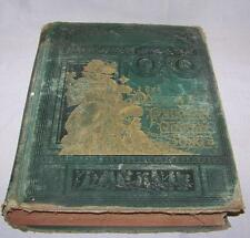 Antique Book THE DRAMA PAINTING POETRY AND SONG 1884 Hardcover