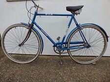 BSA Granada Man's Bike Collectible Retro Vintage Old Bicycle Sky Blue Road Stree