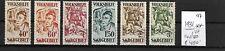 GERMANY SAAR    @ 1931    Mi. 144-150   MNH   € 450.00 @ GERM.97