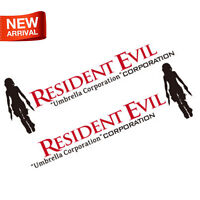 Alice Resident Evil Umbrella Corp. Vinyl Reflective Car Auto Decal Sticker Waist