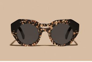 "REVEL PARIS ""Brass Shavings"" womens sunglasses HANDMADE (NEUF)"