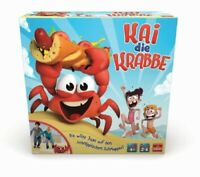 Goliath 31019 Kai the Crab New Game of Skill Party Game Child