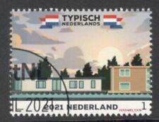 NVPH: TYPISCH NEDERLAND: WOONBOTEM  2021 gestempeld
