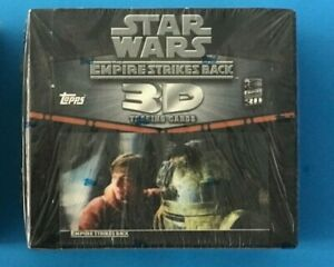 STAR WARS TOPPS EMPIRE STRIKES BACK 3D WIDEVISION SEALED BOX D