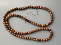 Jade Stone Beads 100 Pieces Jewelery Brown Vintage