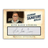 Ruth Bader Ginsburg Notorious RBG Autograph Replica Historic ACEO Signature Card