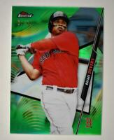 2020 Topps Finest Base Green #24 Rafael Devers /99 - Boston Red Sox