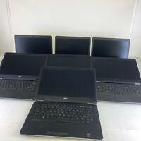 Lot of (7) Dell Latitude E7440 Core i7 4600U 2.10GHz NO RAM NO HDD