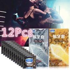 Lots 12Pcs Men Condoms Latex Condoms Top Quality G Spot Condom Sex Products