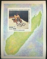 Ampanihy TAPESTRY Mint NH Souvenir Sheet Madagascar #1247H issued in 1995