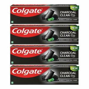 Colgate Clean Black Toothpaste, Bamboo Charcoal & Mint, 120g (Pack of 2)