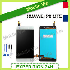 VITRE TACTILE + ECRAN LCD ORIGINAL POUR HUAWEI P8 LITE 2016 BLANC