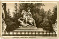 uralte AK, Warschau (Warszawa), König Sobieski Denkmal, Feldpost