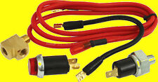 QuickCar Oil Pressure PSI Warning Light Kit Quick Light  IMCA Sportmod 61-711