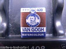 PEINTURE AQUARELLE 1/2 GODET Van Gogh - terre ombre brulée 409 +++ TALENS