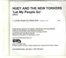 (DT553) Huey And The New Yorkers, Let My People Go - 2012 DJ CD