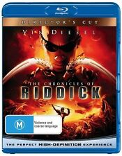 Chronicles Of Riddick (Blu-ray, 2009) Directors Cut New and Sealed