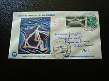 FRANCE - enveloppe 1er jour 21/3/1959 journee du timbre (cy12) french (Z)