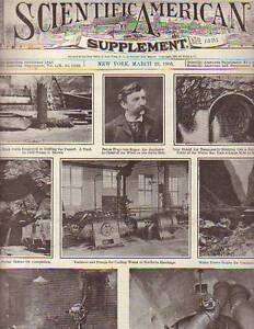 1905 Scientific American Supp March 25 - Simplon Tunnel completed;Foreign Trucks