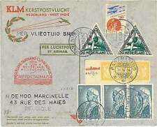 FIRST FLIGHT : MULLER #207 - NETHERLANDS  SURINAME  CURACAO - SIGNED by PILOT