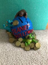 Planet Hollywood Vinyl Coin Bank with cap! Great Condition!!