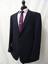 Wool Pinstripe Suits & Tailoring Long Blazers for Men