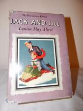 JACK AND JILL Louisa May Alcott The Plumfield Edition Vintage 1928 HC/DJ Rare