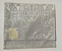 "Set of 2 Ralph Lauren Paisley Silver Placemats 14"" x 19"" NEW"