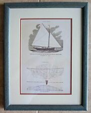 Disney's WDW Yacht Club Resort Nautical Sailboat Artwork Picture Prop 26 X 20
