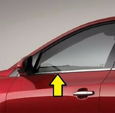 FITS NISSAN ALTIMA COUPE 2DR 2008-2010 STAINLESS STEEL CHROME WINDOW SILLS 2PCS