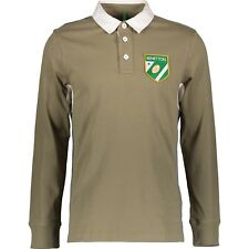 UNITED COLORS OF BENETTON RUGBY POLO SHIRT (80's Casual , Retro , Vintage ) BNWT
