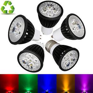 GU10/E27/GU5.3/MR16/E14/B15 Dimmable LED Spot Lights Bulbs Multiple Color Lamp