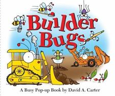 Builder Bugs Busy Pop-Up Book David A. Carter 2012 Learn to read NEW