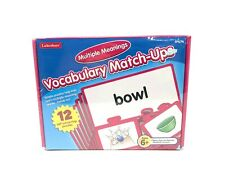 Lakeshore Multiple Meanings Vocabulary Match Ups