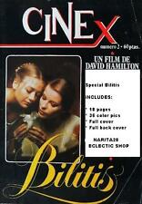 CINEX # 2 / BILITIS - DAVID HAMILTON  Rare Vintage Spanish magazine 70's !!!