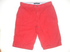 Tommy Hilfiger Red Chino Shorts Summer Mens size W29