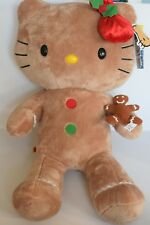Limited Edition Hello Kitty christmas Gingerbread Build a Bear Soft Toy