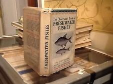 Observers Book Of Freshwater Fishes 1954