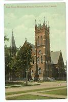 Park Street Methodist Church CHATHAM ON Ontario Vintage 1912 Postcard