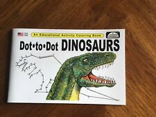 Dot To Dot Dinosauers - Educational Read Color Book For Kids!