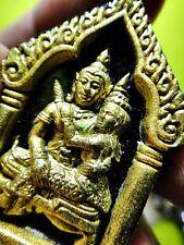 9200-THAI SOULMATE ATTRACT AMULET KHUN-PAEN CHARMING LEKLAI BLACK GOLD LP KEY EP