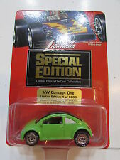 JOHNNY LIGHTNING SPECIAL EDITION VW CONCEPT ONE - GREEN