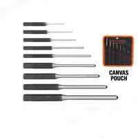 9Pcs Roll Pin Punch Set Gunsmithing Kit Removing Repair Tool with Holder Spring