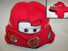 Cars Lightning McQueen Toddler Fleece Beanie Winter Hat Cap Rusteze CUTE